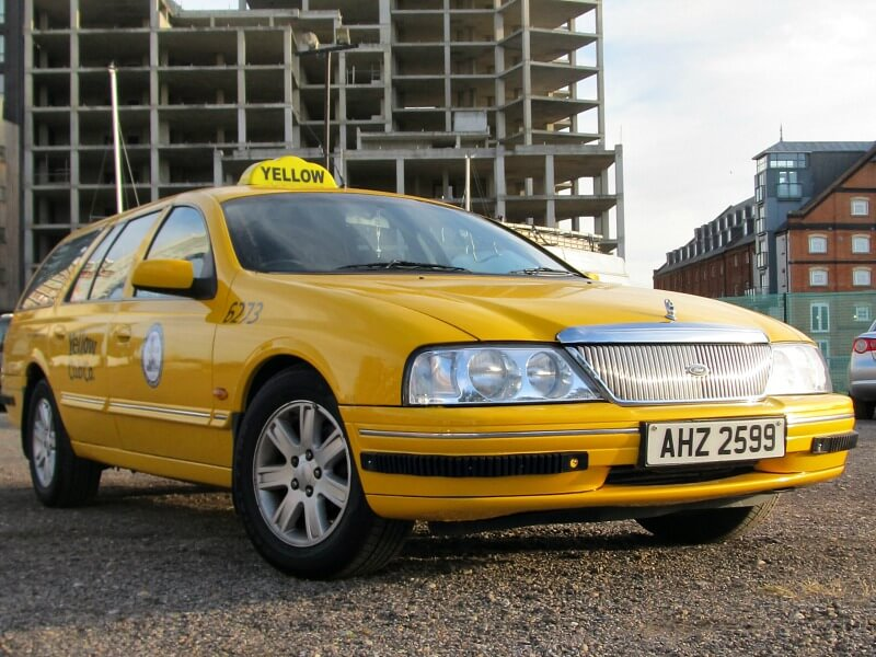 People who choose a Yellow Cab taxi hearse are looking for something that stands out from the crowd