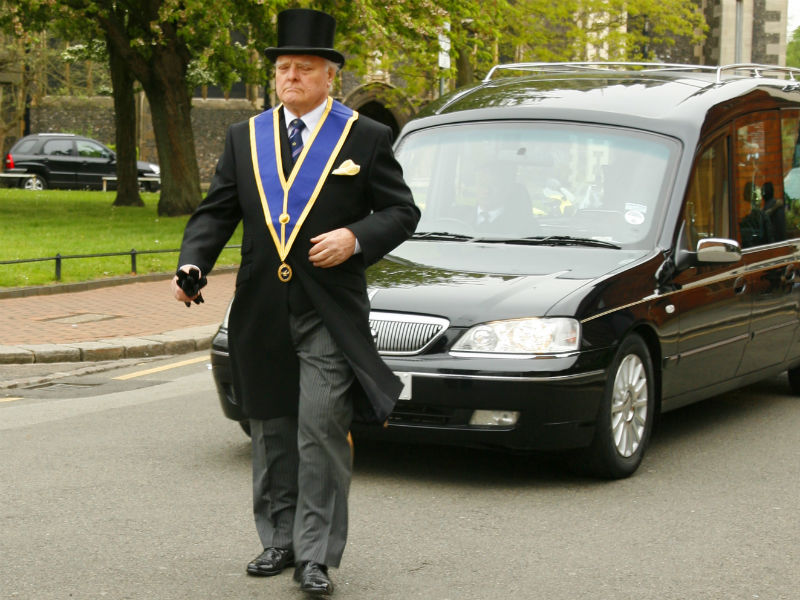 funeral director rony rowland