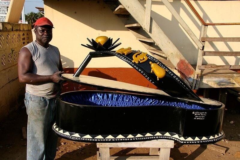 Funerals In Ghana & Fantasy Coffin Art - Funeral Guide