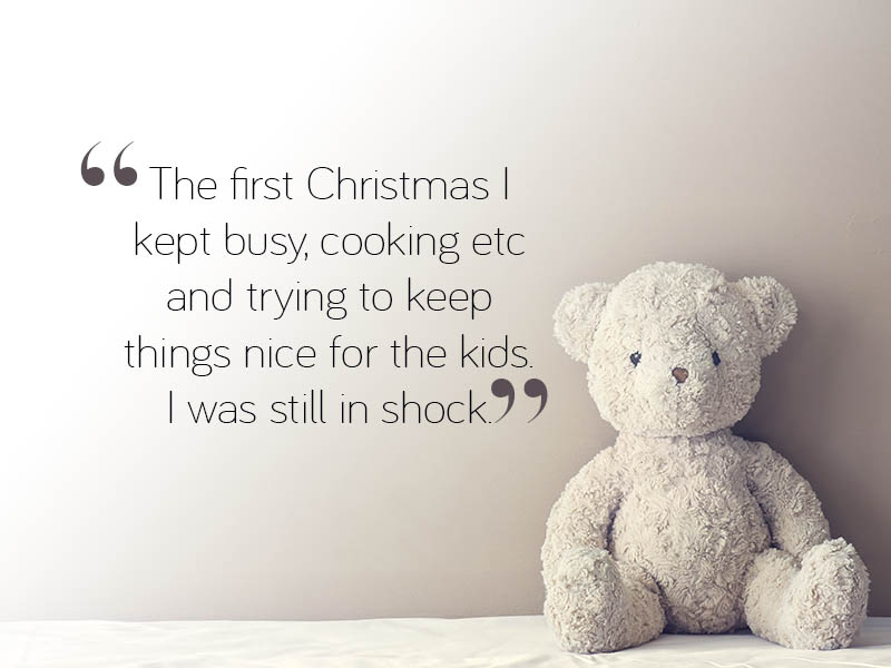Losing a  loved one at Christmas and coping with grief at Christmas quote5