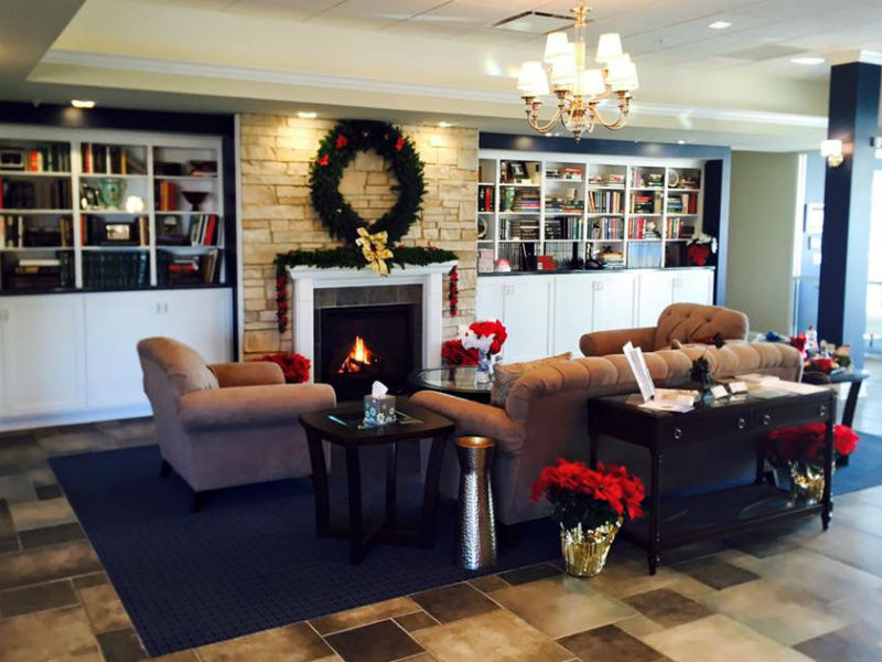 A photo of Maher Funeral Home's cosy family area