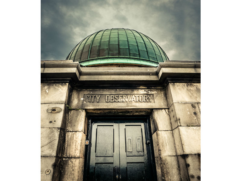 The City Observatory in Edinburgh