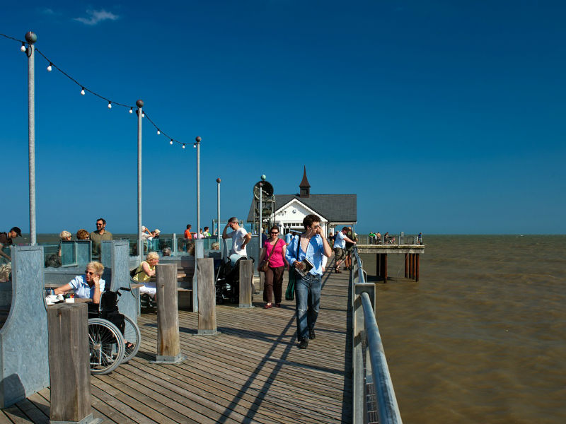 Southwold Pier ona  summer day