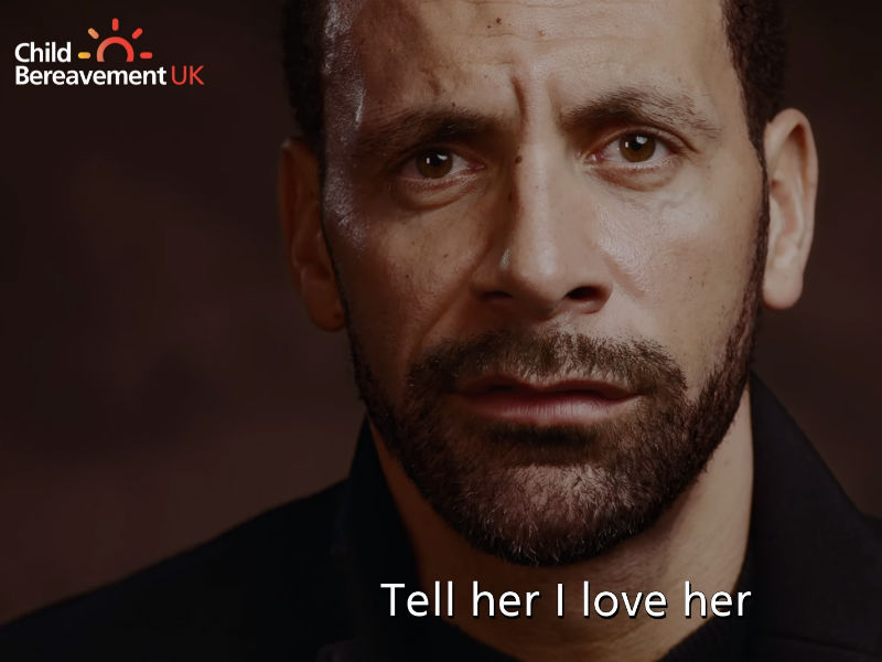 rio ferdinand took part in CBUK's One More Minute campaign