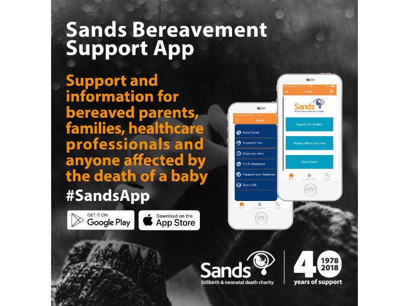 sands bereavment app