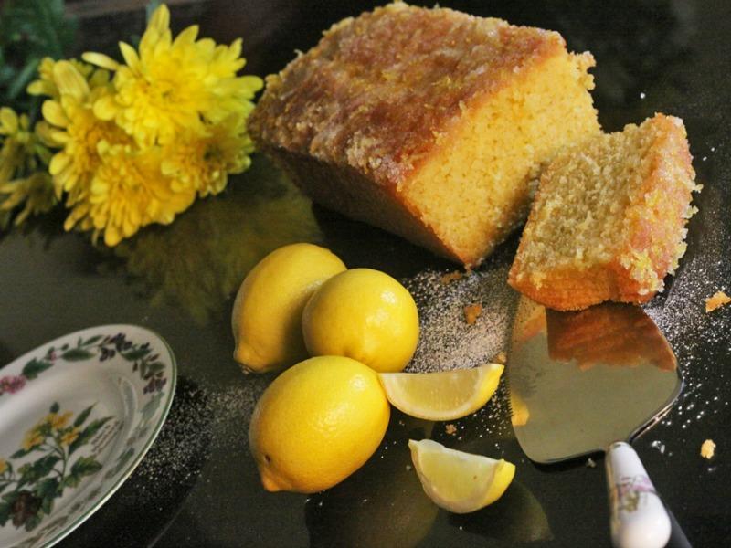 Kim's lemon drizzle cake