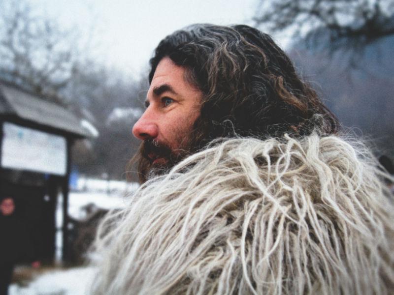 A bearded Viking