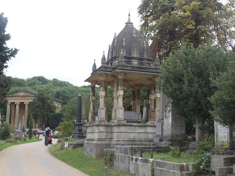 Mausoleum at Arnos Vale Cemetery, Bristol