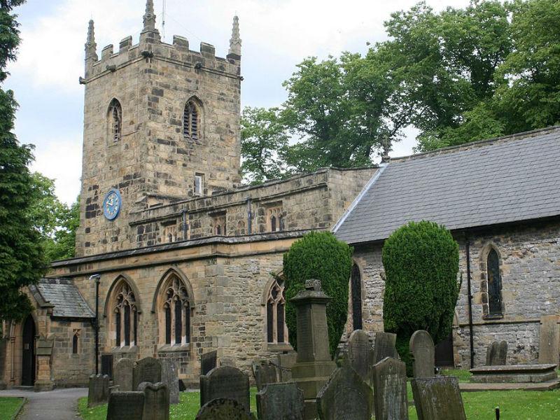 St Lawrence's Churchyard Eyam