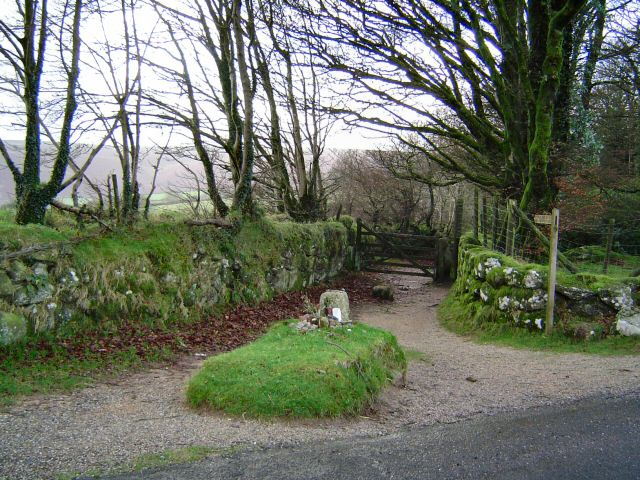 Kitty Jay's grave lies on a lonely Dartmoor track